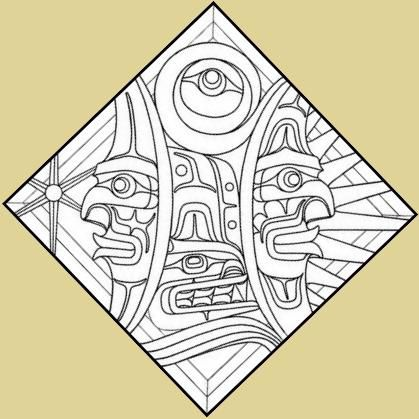 stained glass amerindian   Stained Glass Ordering ...