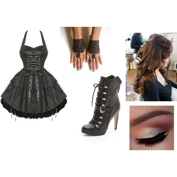"""dark"" by wafflelove42 on Polyvore"