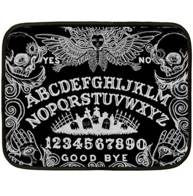 Ouija Board Black Blanket Ouija Ouija Board Bath Mat Rug
