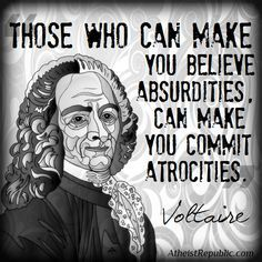 The major problem with religion summed up in one sentence.