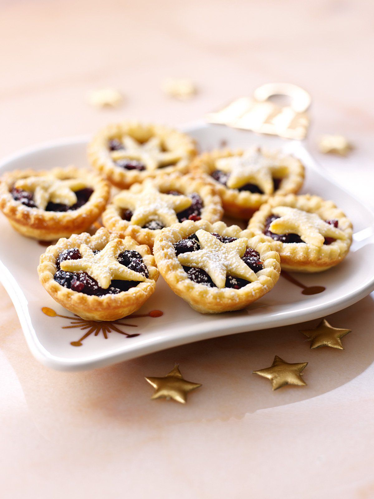 Star Topped Mince Pies Recipe Mince Pies Food Recipes Food