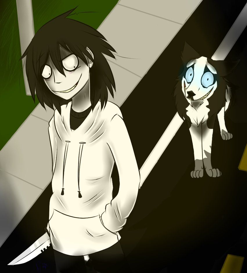 Jeff: Spread the word? Sounds good to me! Jeff the Killer and Smile Dog