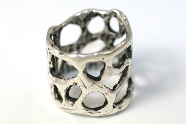 """Bilbo"" ring in sterling"