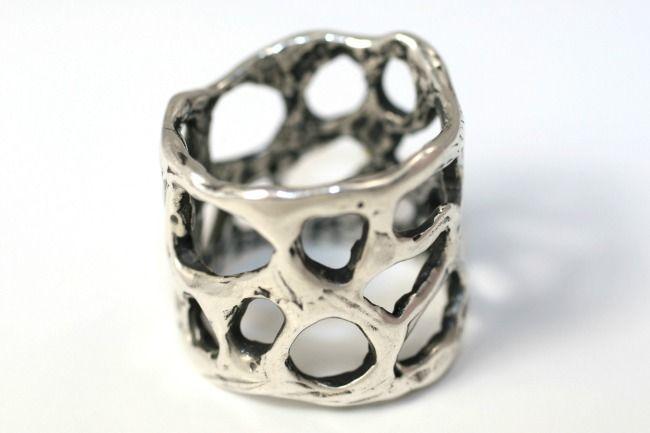 """""""Bilbo"""" ring in sterling"""