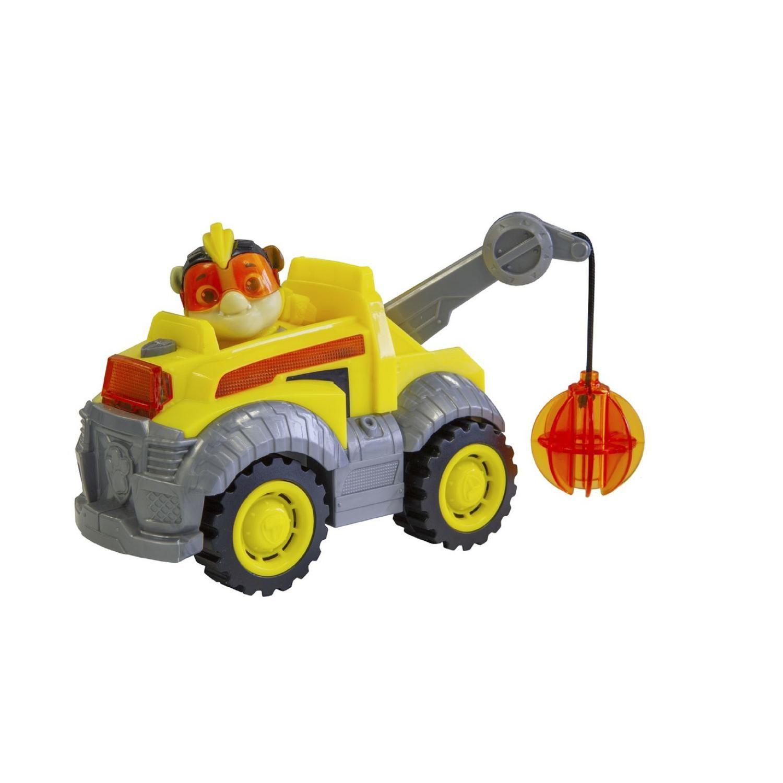 Vehicule Figurine Ruben Mighty Pups A Prix Paw Patrol Patrouille Et Figurine