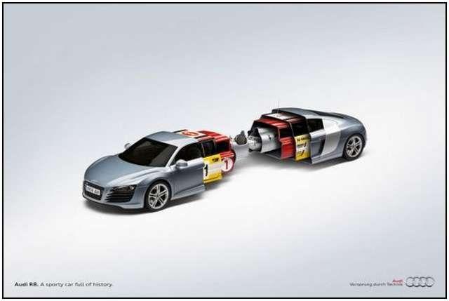 TheShowcaseofCreativeCarAdvertisingjpg Pixels - Audi car origin
