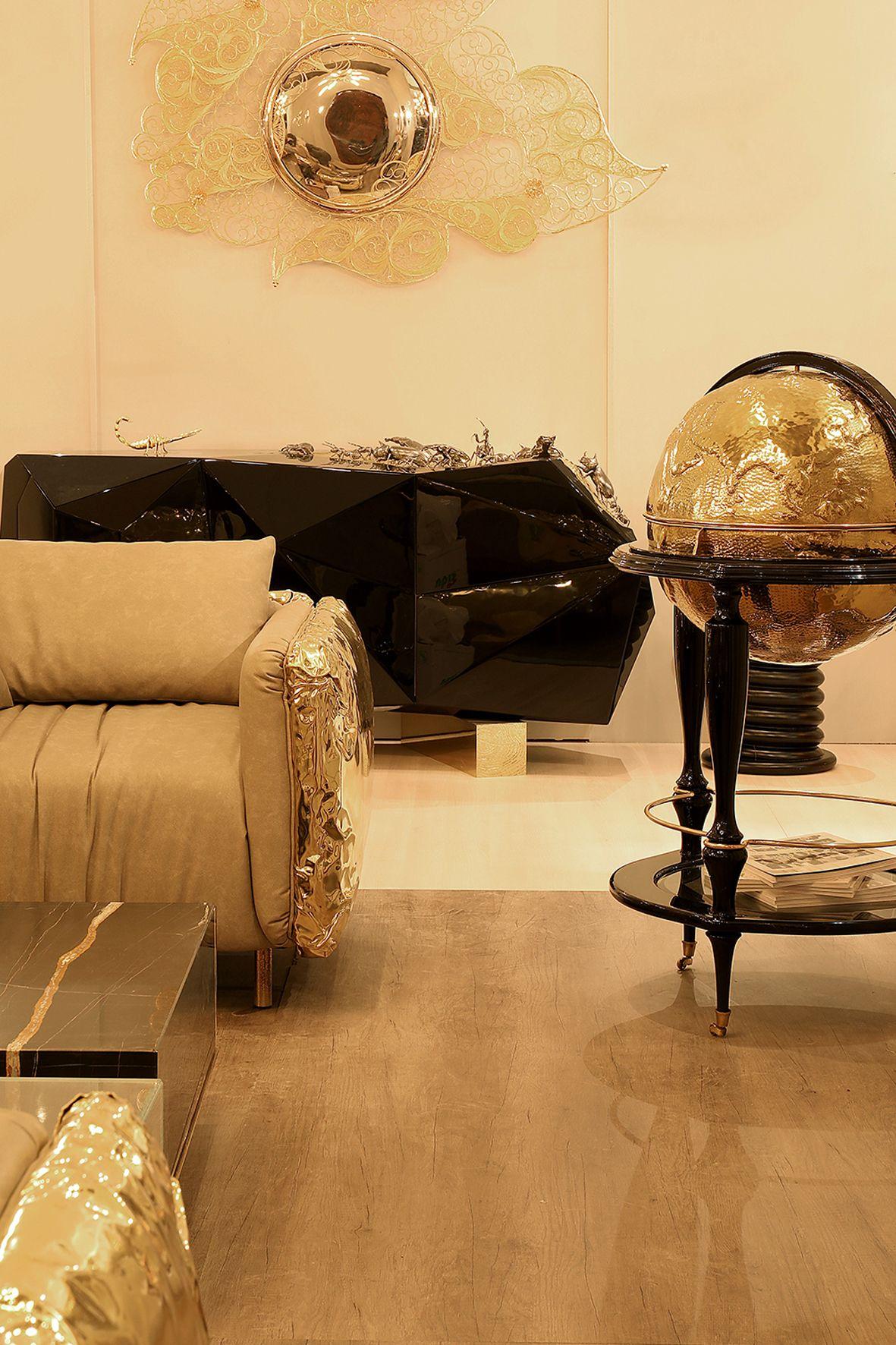 BOCA DO LOBO at Salone del Mobile 2017 | iSaloni 2017 #designinspiration #moderndesign #interiordesign #designhouse #curateddesign #furnituredesign #isaloni2017 #isalonimilano #isalonifurniture #isaloni #bocadolobo