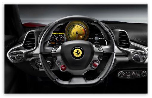 2010 Ferrari 458 Italia Steering Wheel I Automotive Uiux