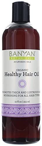 Buy Banyan Botanicals Healthy Hair Oil Organic Herbal Oil Bhringaraj Amla Ayurvedic Hair Care Strong Thi In 2020 Healthy Hair Oil Hair Oil Ayurvedic Hair Care