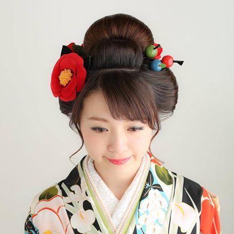 大人の日本髪 成人式 成人式ヘア 日本髪 新日本髪 女子 つばき