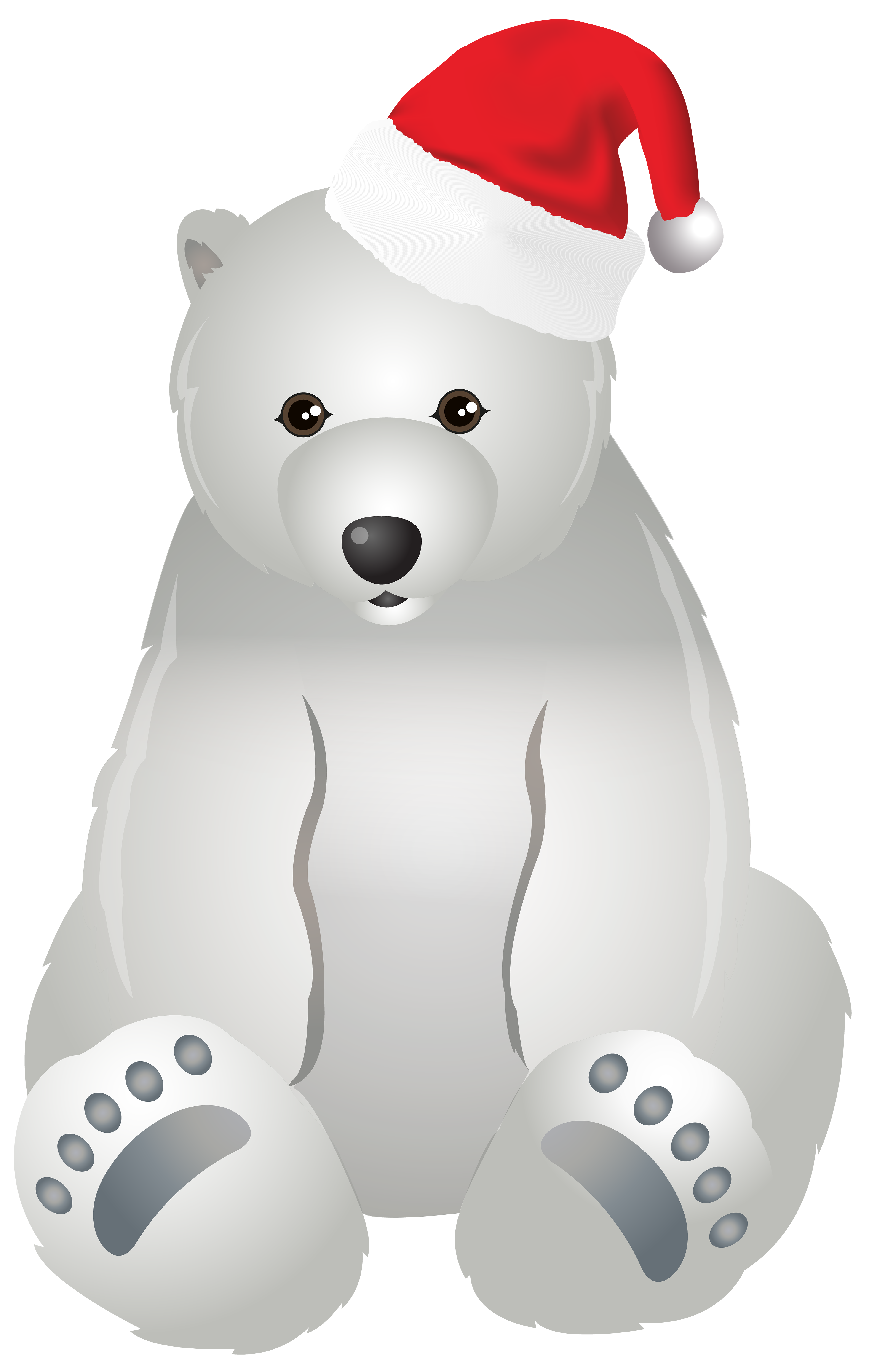 Christmas Polar Bear Transparent Clip Art Image Gallery Yopriceville High Quality Images And Transparent Png Free Clipa Polar Bear Art Bear Art Art Images