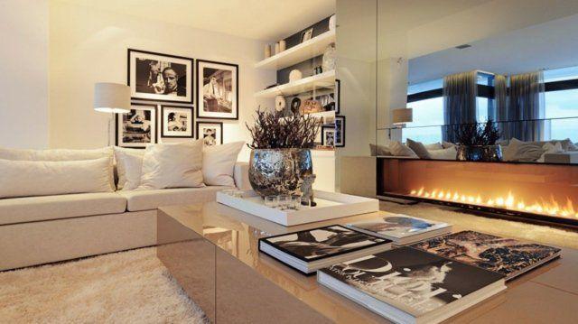 Décoration et design du salon moderne en 107 idées superbes! | Bio ...