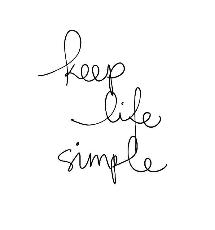 Keep life simple words that inspire pinterest lds org wisdom keep life simple thecheapjerseys Images