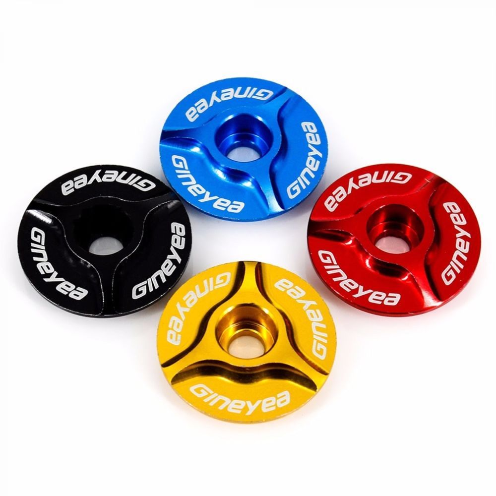 "Best Top Cover Bicycle Headset Top Cap Aluminum 1 1//8/"" MTB Bicycle Stem Cap Lid"