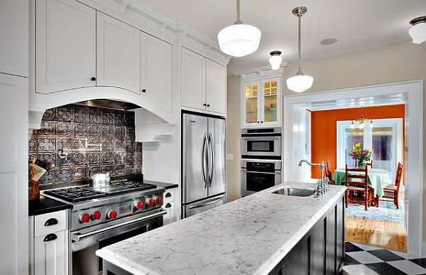 Adding Pressed Tin Into Your Home Decor | Pressed tin, Kitchen ...