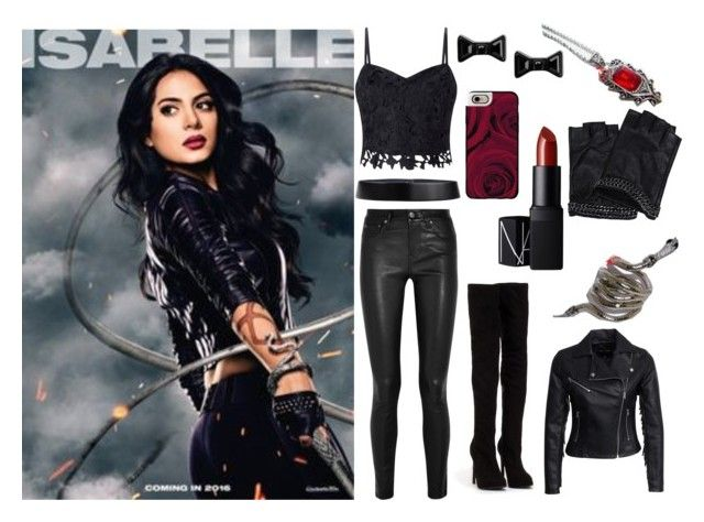 """""""Isabelle Lightwood"""" by horse-dance-princess ❤ liked on Polyvore featuring Lipsy, New Look, Helmut Lang, Nly Shoes, Marc by Marc Jacobs, NARS Cosmetics, Jil Sander, Karl Lagerfeld and Casetify"""