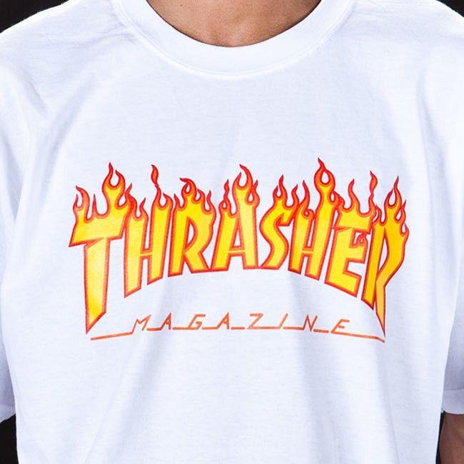 Polos Logo 2019 Pinterest En Shirts Flame Thrasher White Tee w5vxIvnZ