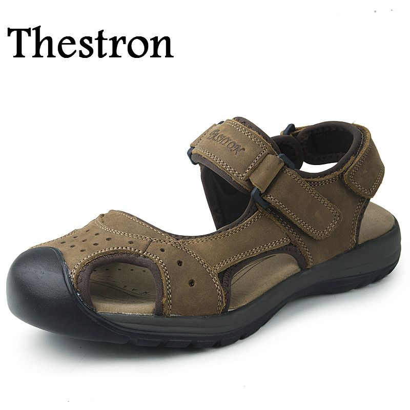 c4bfd7c1dc92 Thestron Mens Water Sandals Breathable Mens Sneakers Shoes Sport Non-Slip  Aqua Shoes For Male Brown Mens Water Trainers   Price   US  25.50   FREE  Shipping ...