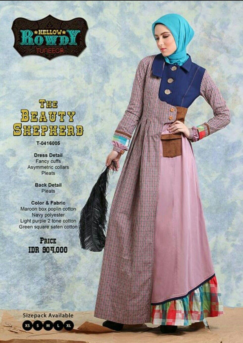 Tuneeca hr12.12  Pakaian wanita, Model baju wanita, Model pakaian hijab
