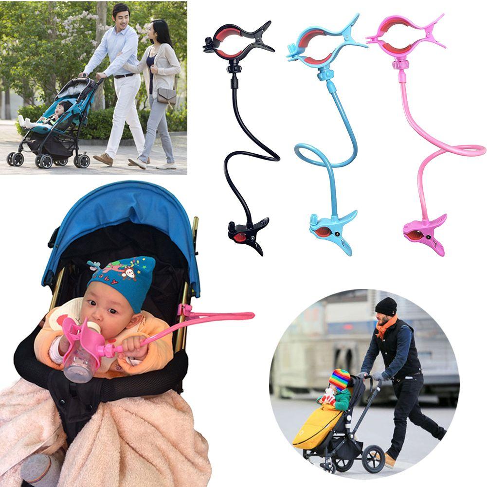 Click To Buy Universal Stroller Bottle Holders Accessory Hands Free Adjustable Bottle Clip Holder On Baby Str Baby Strollers Baby Bottles Baby Bottle Bag