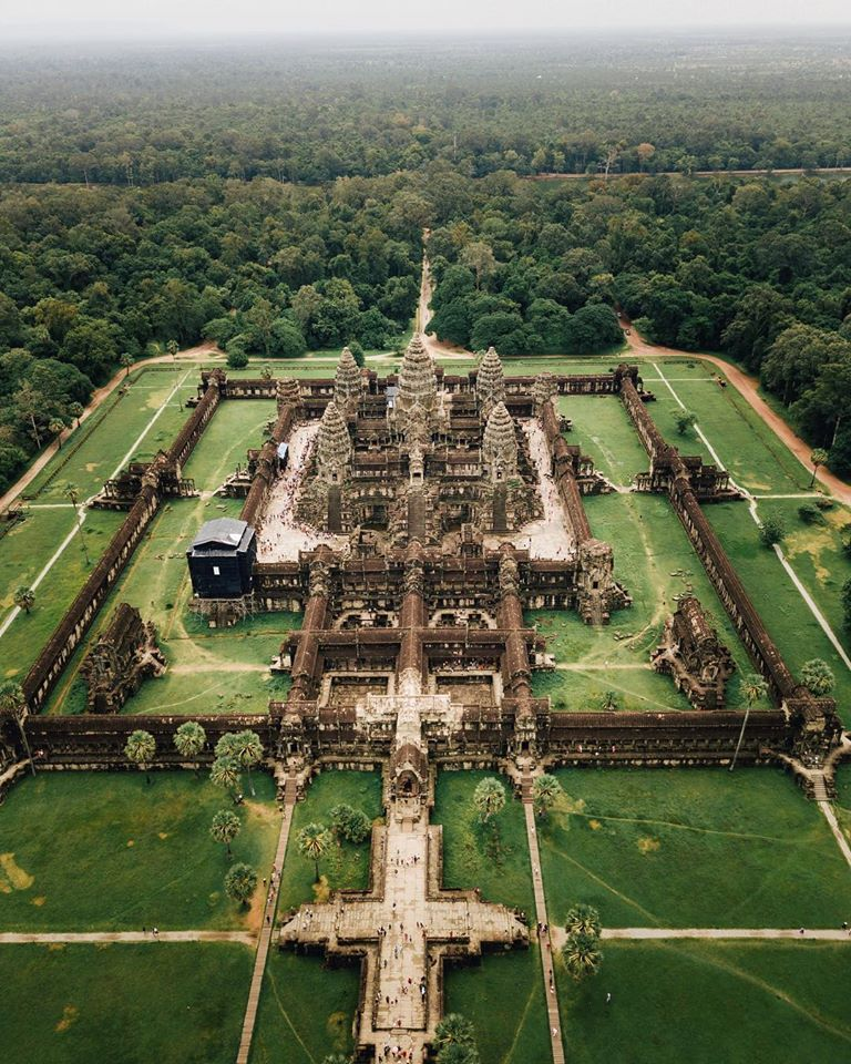 Travel Guide To Angkor Wat And Siem Reap, Cambodia  Siem Reap: the home of Angkor Wat, a bucket list item and a UNESCO World Heritage Site. What used to be a small, dusty backwater town was suddenly thrown in the limelight when Angkor Wat was restored in the early 20th century, and drove far more tourists to the site than anyone could have predicted.   (📸 @nevinxavier)