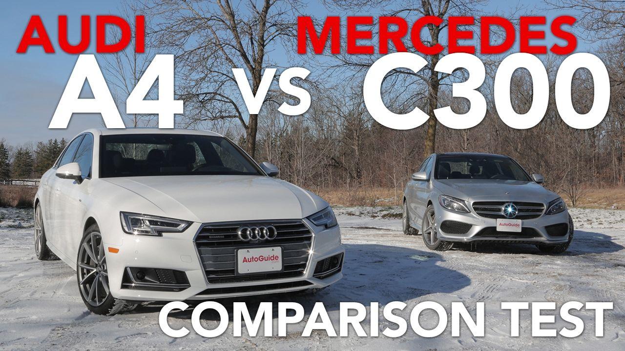 2017 Audi A4 2.0TFSI Quattro vs 2017 MercedesBenz C300