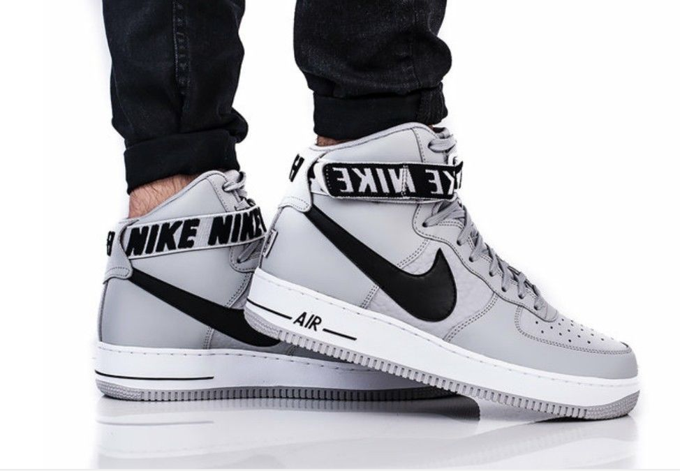 new style 976a5 7a347 Nike Air Force 1 High 07 Men s Athletic Snickers Shoes Grey Multiple Sizes  NIB  Nike  AthleticSneakers