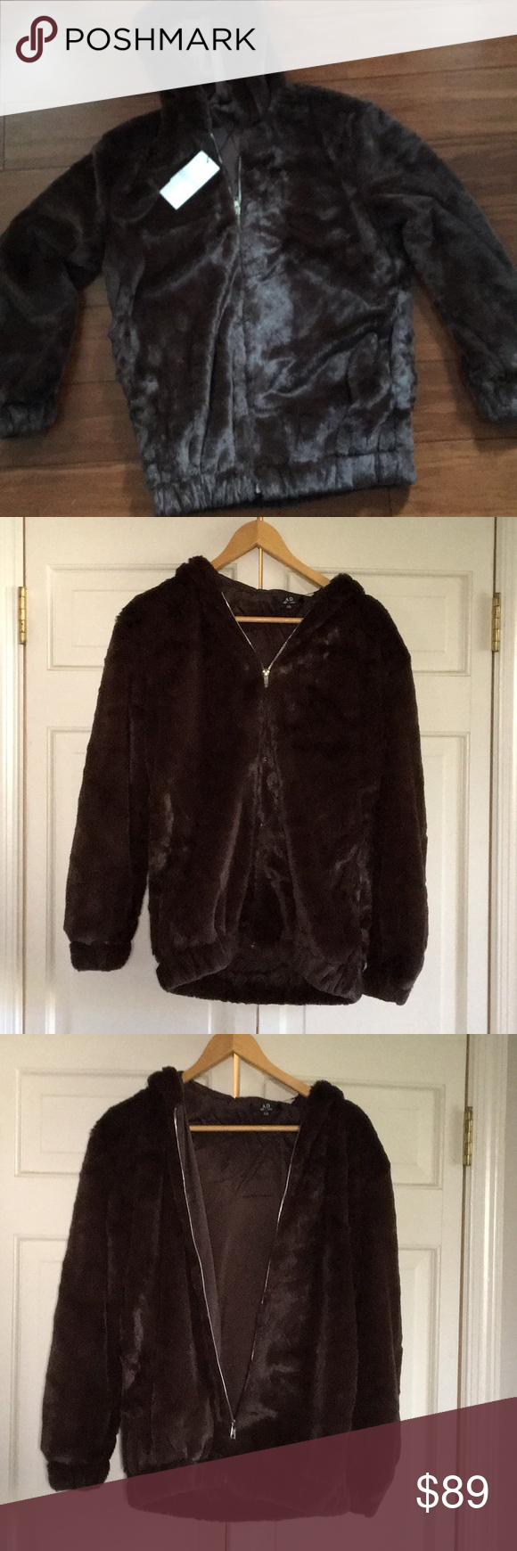 I just added this listing on Poshmark Luxurious faux fur hoodie Omega  Blazers