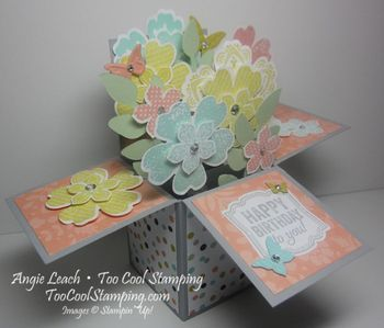 Blooms in a box - too cool