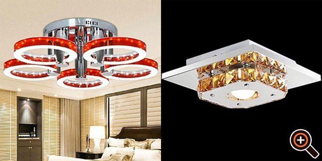 Deckenleuchten LED u2013 moderne Wohnzimmer, Schlafzimmer, Küche, Flur - deckenleuchte led wohnzimmer