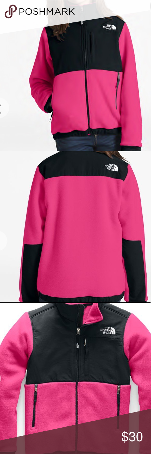 Pink Black Fleece North Face Jacket Pink And Black Fleece North Face Jacket Full Zipper And Three Black Fleece Jacket Black Fleece North Face Fleece Jacket [ 1740 x 580 Pixel ]