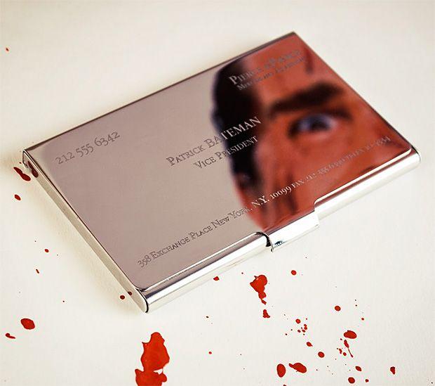 American psycho business card holder rob gift ideas pinterest e89b2fafe5ac403a067cf1b17d41cf5ag reheart Gallery