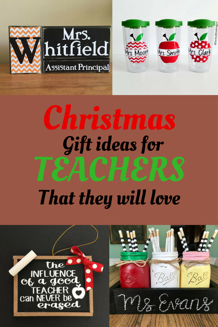 Great gifts for teachers! Christmas is coming #christmas ...
