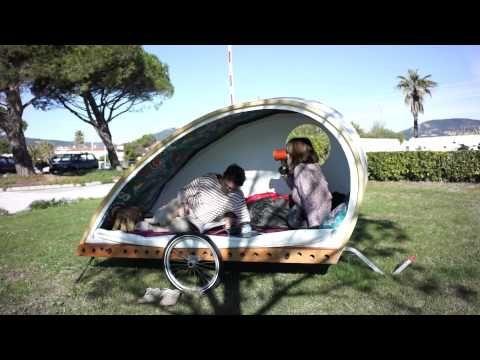 wooden bicycle trailer 16 bikes fahrrad. Black Bedroom Furniture Sets. Home Design Ideas