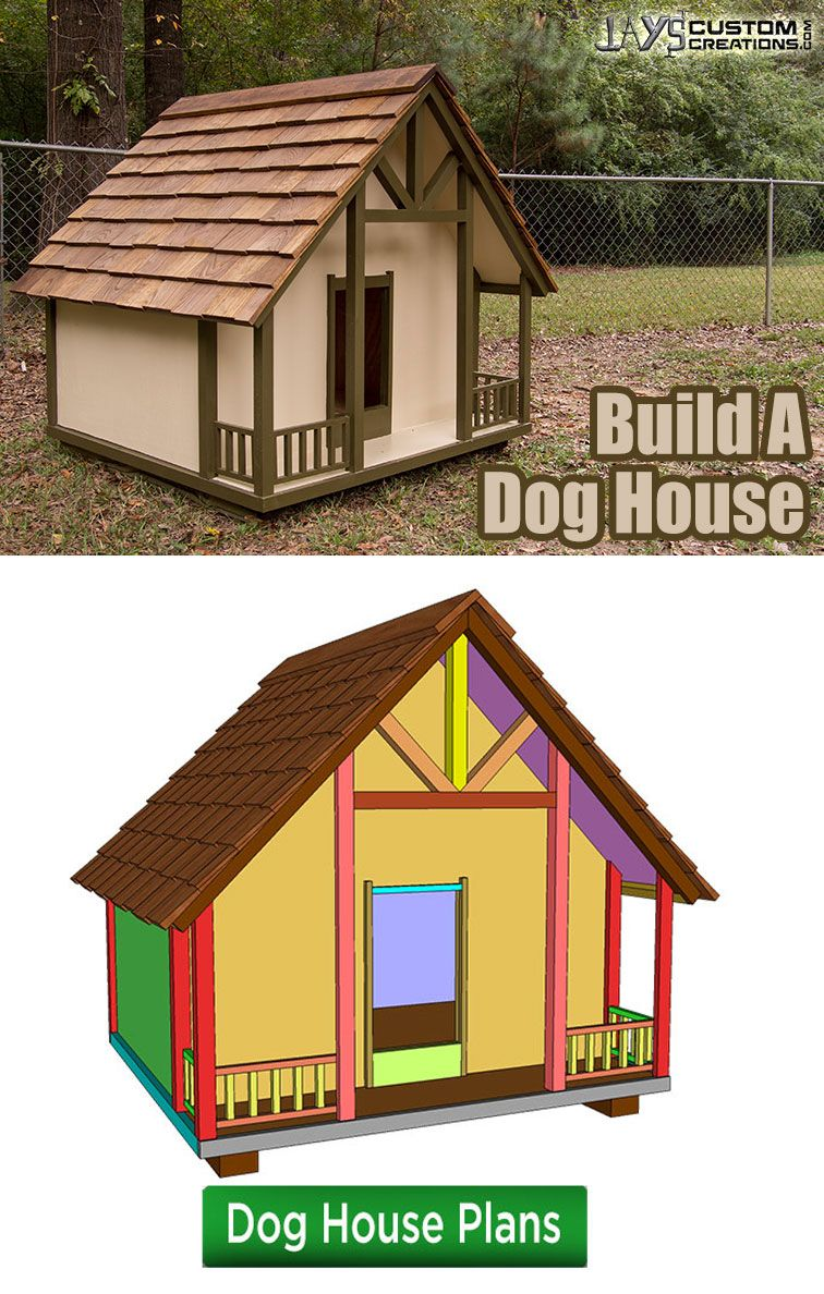 plans for a cottage style dog house diy wood projects