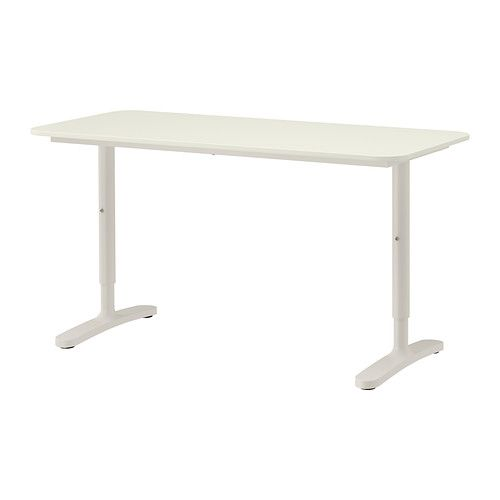 BEKANT Desk IKEA 10 year guarantee  Read about the terms in the guarantee  brochure. BEKANT Desk  birch veneer  white   Cable  Stains and Suits