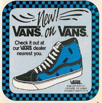 Vans... Courtney in highschool.