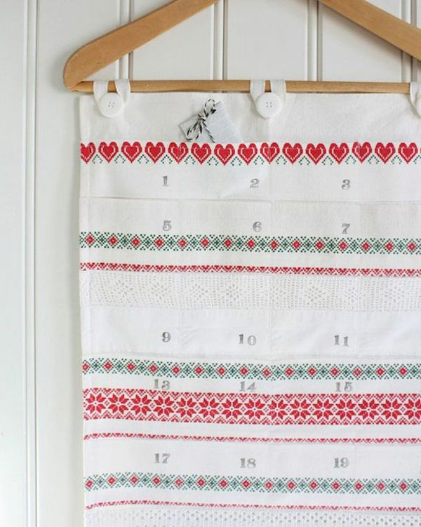 Do you want to make an advent calendar yourself - creative craft
