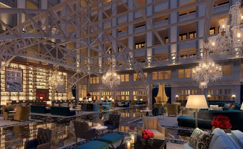 Luxury Hotels Washington Dc Trump Hotel Gallery Near The White House