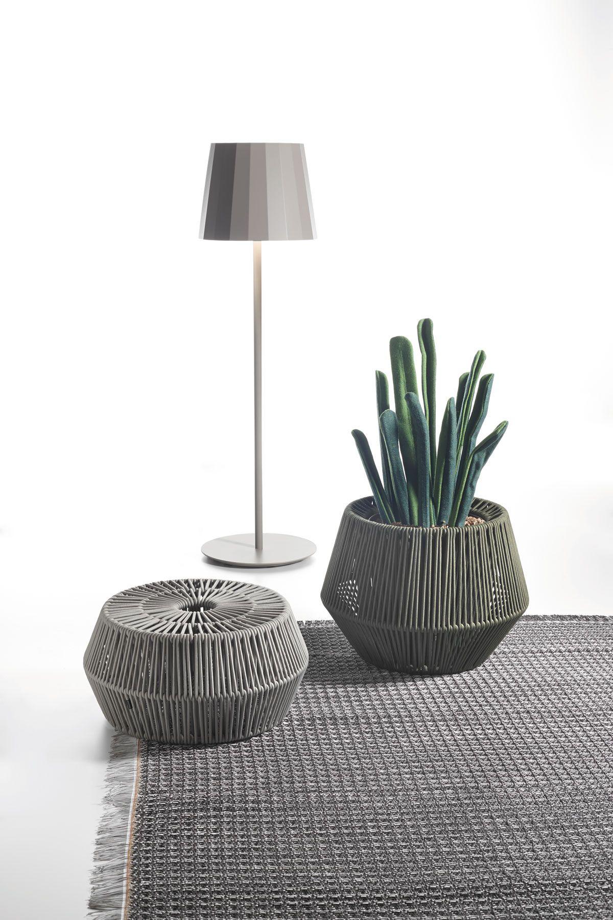 Kettal Objects Medium Planter Zigzag Terraza In 2019