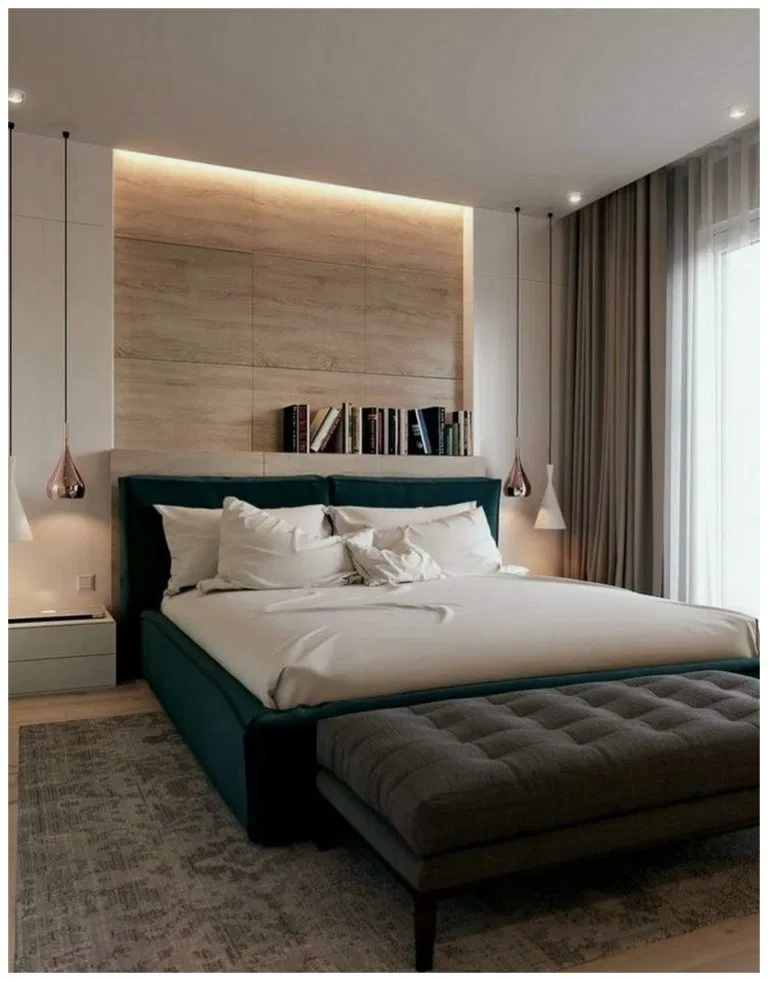 45+ Splendid Modern Master Bedroom Ideas » Home in Fashion #masterbedroompaintcolors