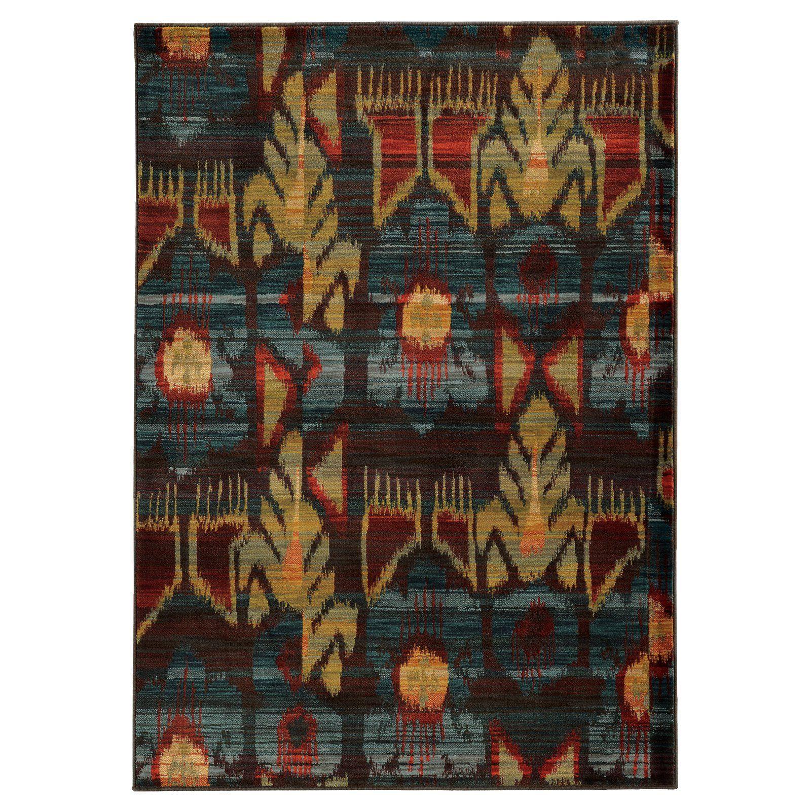 Oriental Weavers Sedona 4378H Indoor Area Rug - S4378H056091ST