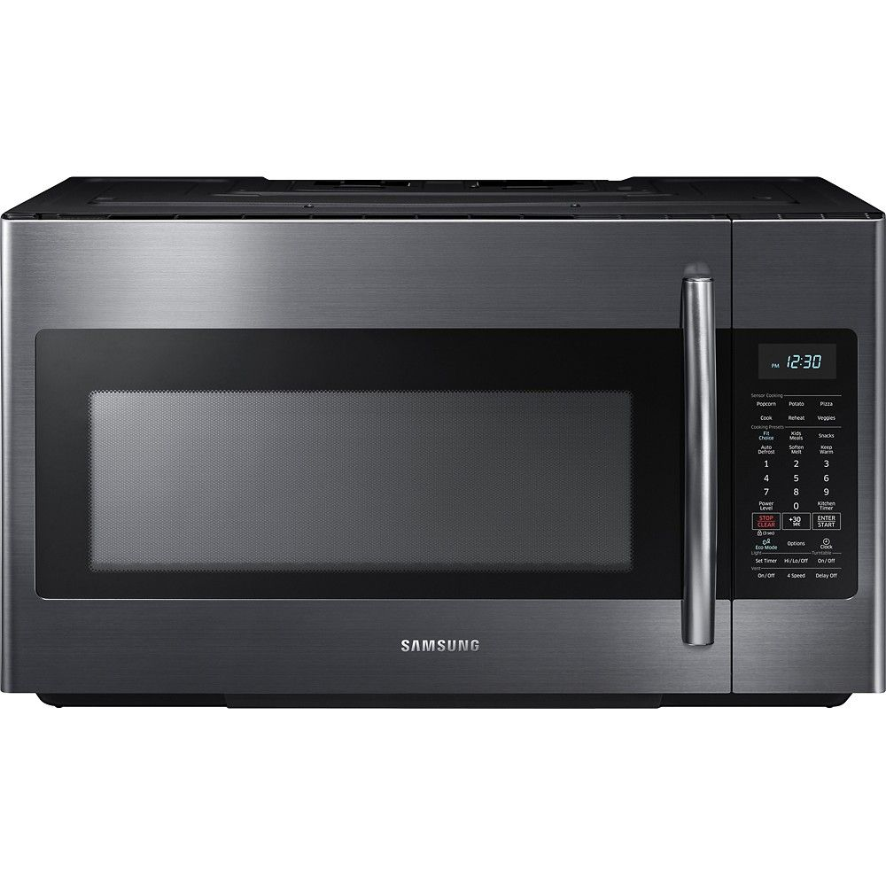 Samsung 18 Cu Ft Over The Range Microwave With Sensor Cooking