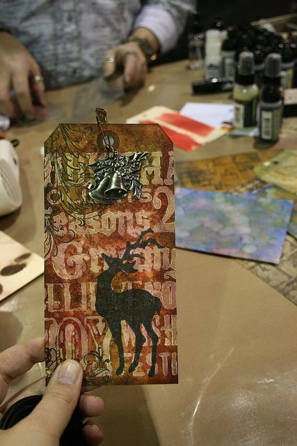 diy craft videos tim ranger tim holtz tag tim 1868