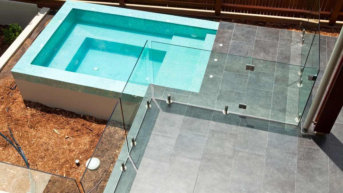 Glasspoolfence Glassbalustrade Poolarea Poolandgarden Poolidea Pool Fence Glass Pool Fencing Pool