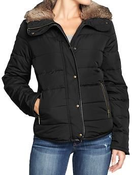 118e0c512 Womens Frost Free Faux-Fur Trim Jackets (Old Navy) ($45.00) | I ...