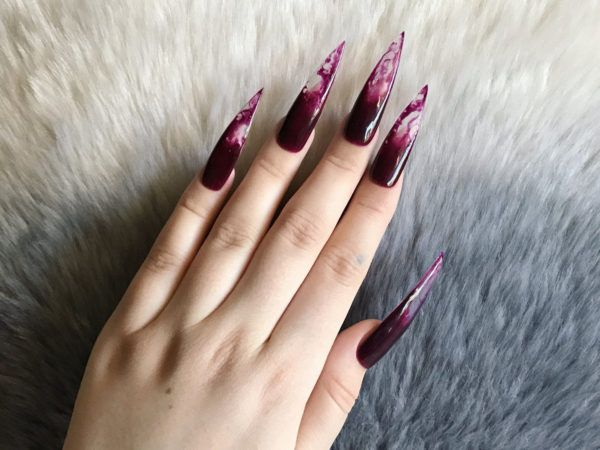 Blood Drip Nails Are Going To Be All The Rage With Vampires