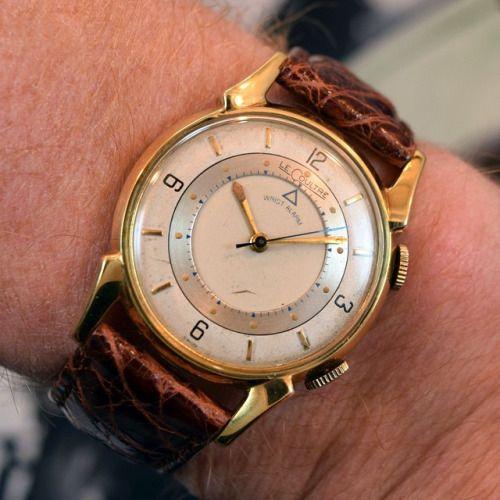 Vintage LE COULTRE K910 Memovox Alarme Mouvement pièces pour réparations-voir liste