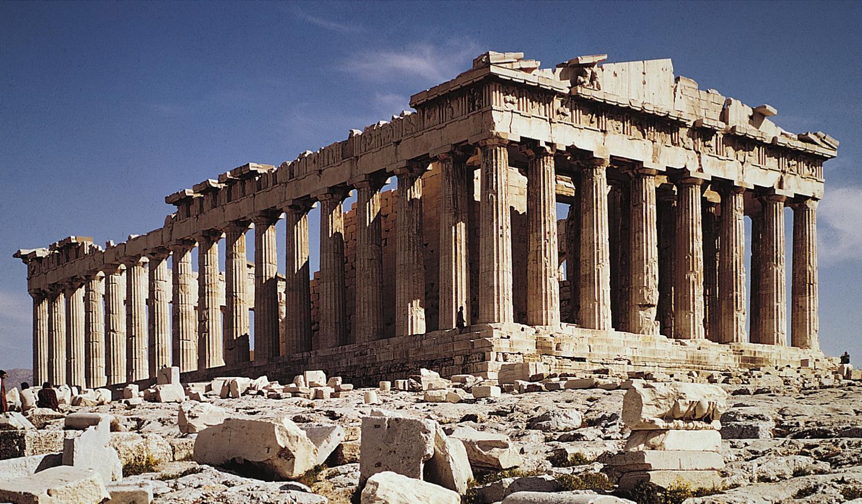 447–438 B.C. - IKTINOS and KALLIKRATES, Parthenon, the ...