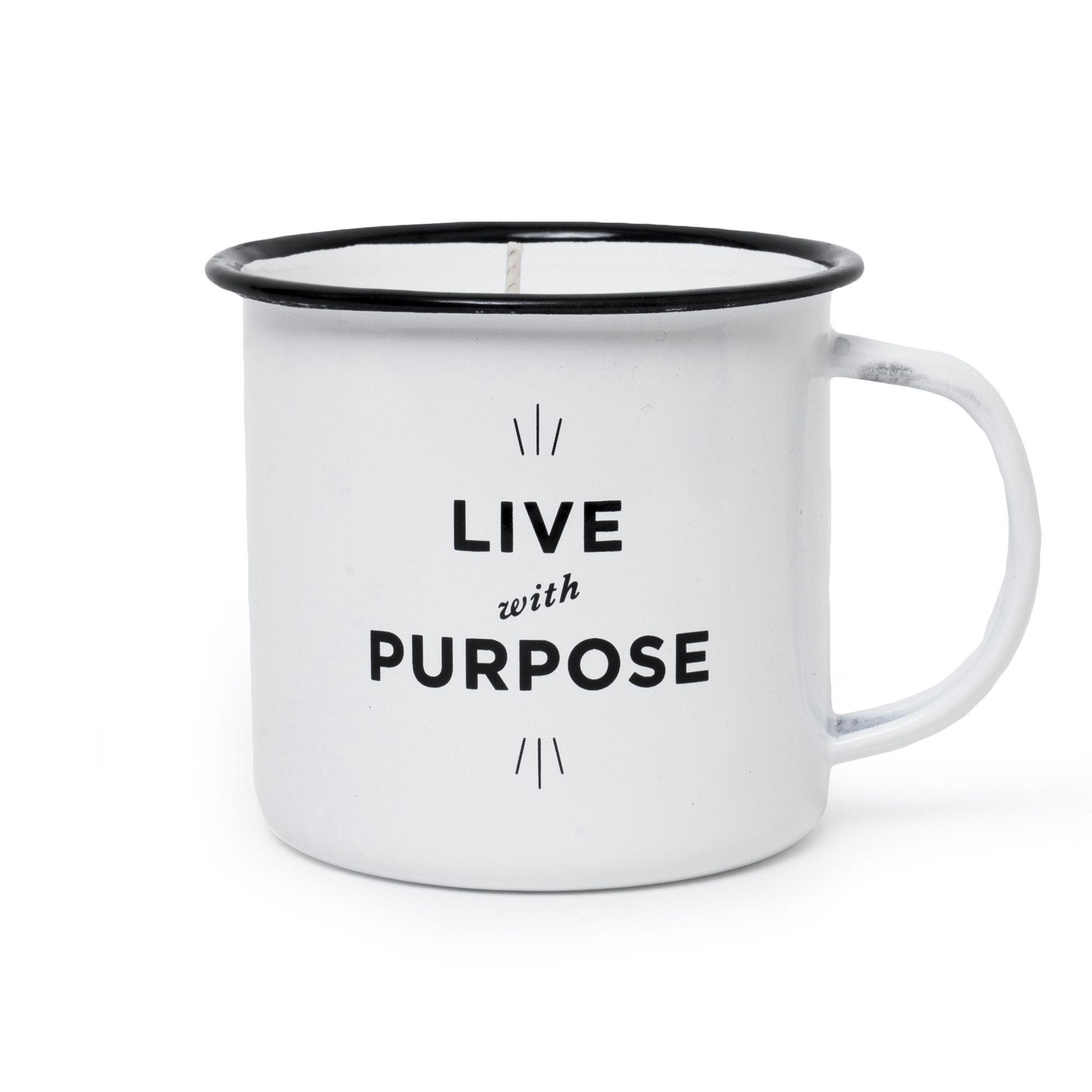 Live With Purpose Camp Mug Candle livewithpurpose candle